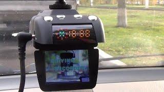 видео Видео регистраторы с функцией антирадар и навигатор в одном: 3 в 1, цена и отзывы