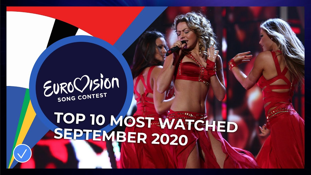 TOP 10: Most watched in September 2020 - Eurovision Song Contest