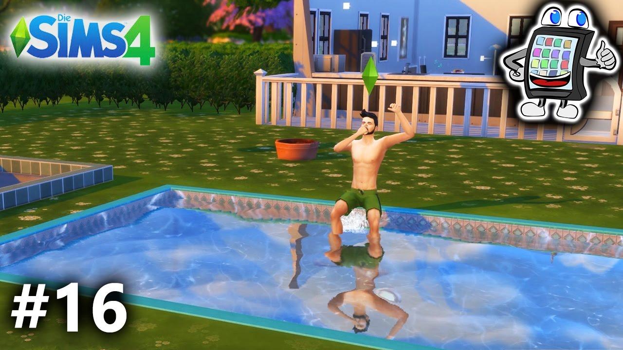Schwimmen Spiel