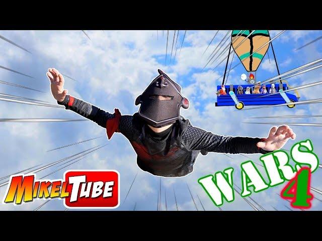 Fortnite Real en MikelTube WARS 4