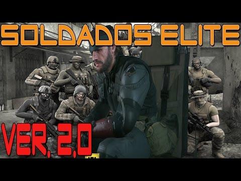 [Metal Gear Solid V: The Phantom Pain] [Guía/Truco] Soldados élite - VER.2.0 - Español