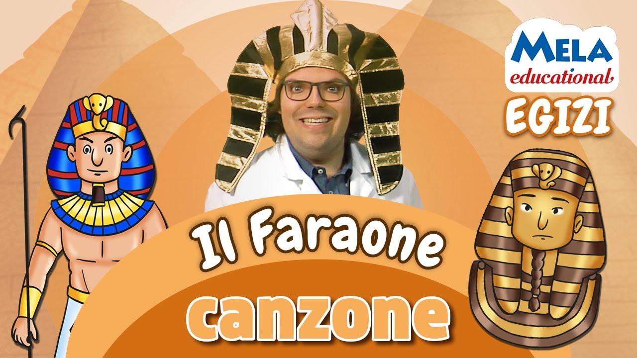 Download Il faraone - Renato lo scienziato canzone Educational @MelaMusicTV 