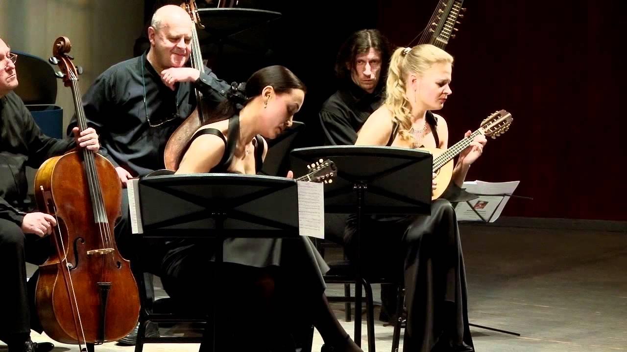 A. Vivaldi concerto for two mandolins G-dur I-II-III