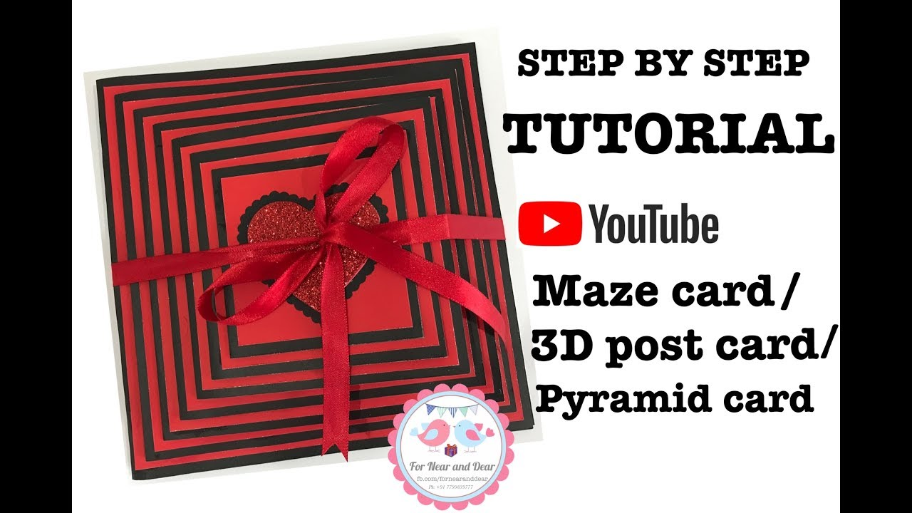Handmade Maze Card