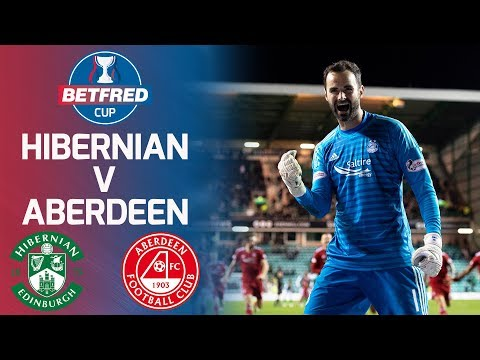 Hibernian 0-0 Aberdeen | Dramatic Draw Leads to Penalties! | Betfred Cup Quarter-Final
