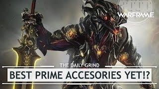 Warframe: Chroma Prime Access, The BEST Accessory Pack Yet!? [thedailygrind]