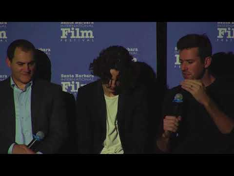 """SBIFF Cinema Society - """"Call Me By Your Name"""" Q&A- Clip 02"""