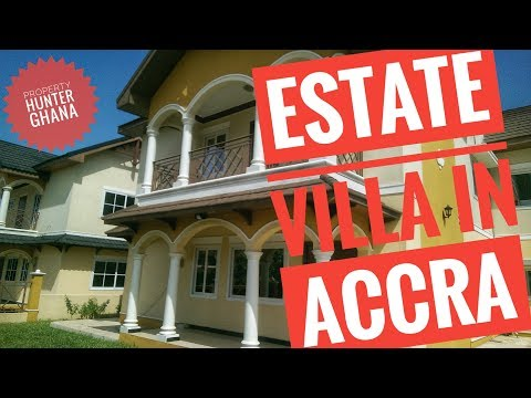 4 Bedroom Estate House In Accra For Sale - East Legon Hills