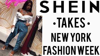 SHEIN TAKES NEW YORK FASHION WEEK |#SHEINtakesNYFW | iDESIGN8