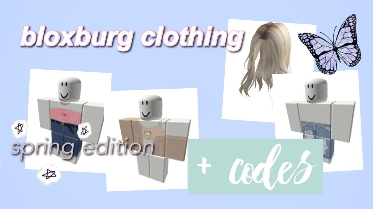 Cute Bloxburg Clothing Codes Roblox Bloxburg Youtube