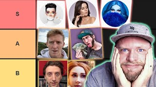 """""""Cancelled"""" Youtuber Tier List 2019"""