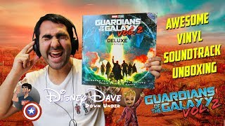 GUARDIANS OF THE GALAXY VOL. 2 - Deluxe Edition Vinyl Unboxing & Review