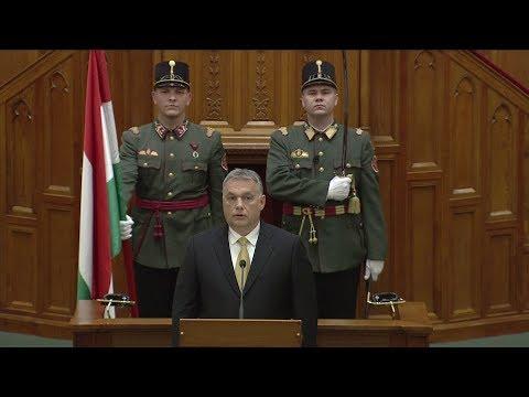 Orbán Viktor miniszterelnöki esküje - ECHO TV