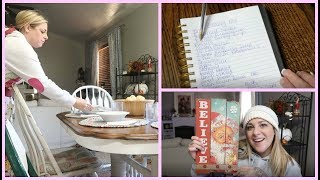 PLANNING, SHOPPING & DINNER WITH THE FAMILY