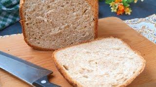 Белый хлеб с пшеничными отрубями в хлебопечке