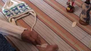 Как связать детскую двойную шапку с ушками. Уроки и секреты машинного вязания.