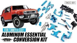 Yeah Racing Aluminum Essential Conversion Kit For Tamiya CC01 #TACC-S01