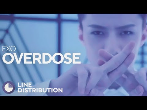 EXO-K - Overdose (Line Distribution) [Collab with Watasy Wahyo]