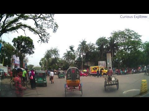 Driving Around Sylhet City in Bangladesh   Amazing Travel Vlog