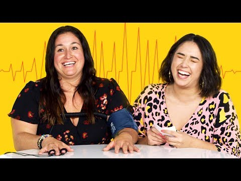 Me & My Mom Take a Lie Detector Test | Fess Up | Cut