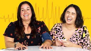 My Mom & I Take a Lie Detector Test | Fess Up | Cut