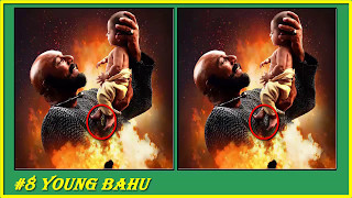 Bahubali 2 Special- Can You Find All The Differences? riddle