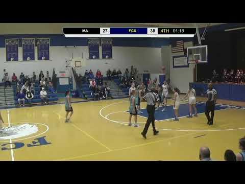 FCS vs Marlboro Academy Varsity Girls Basketball