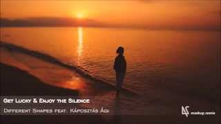 Get Lucky & Enjoy the Silence - Different Shapes feat. Káposztás Ági (Mashup Remix)
