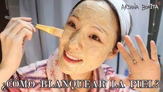 Blanquea y aclara tu rostro en SOLO 15 mins │ Mascarilla casera │ Truco coreano