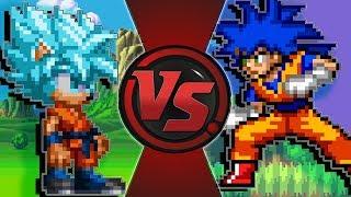 If Sonic and Goku Switched Places | (Sonic vs Goku Animation)