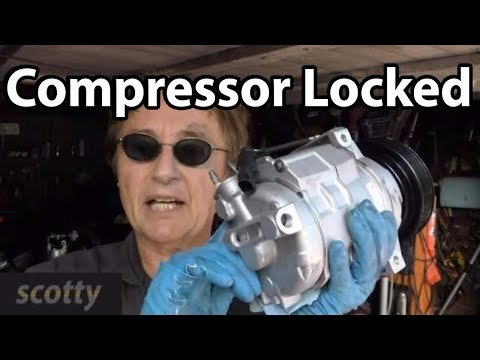 Fixing a Locked Up AC Compressor