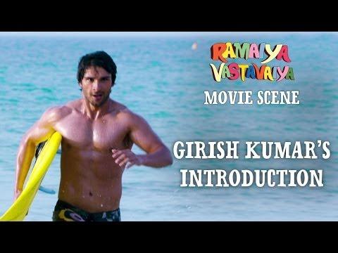 Girish Kumar's Introduction - Ramaiya Vastavaiya Scene