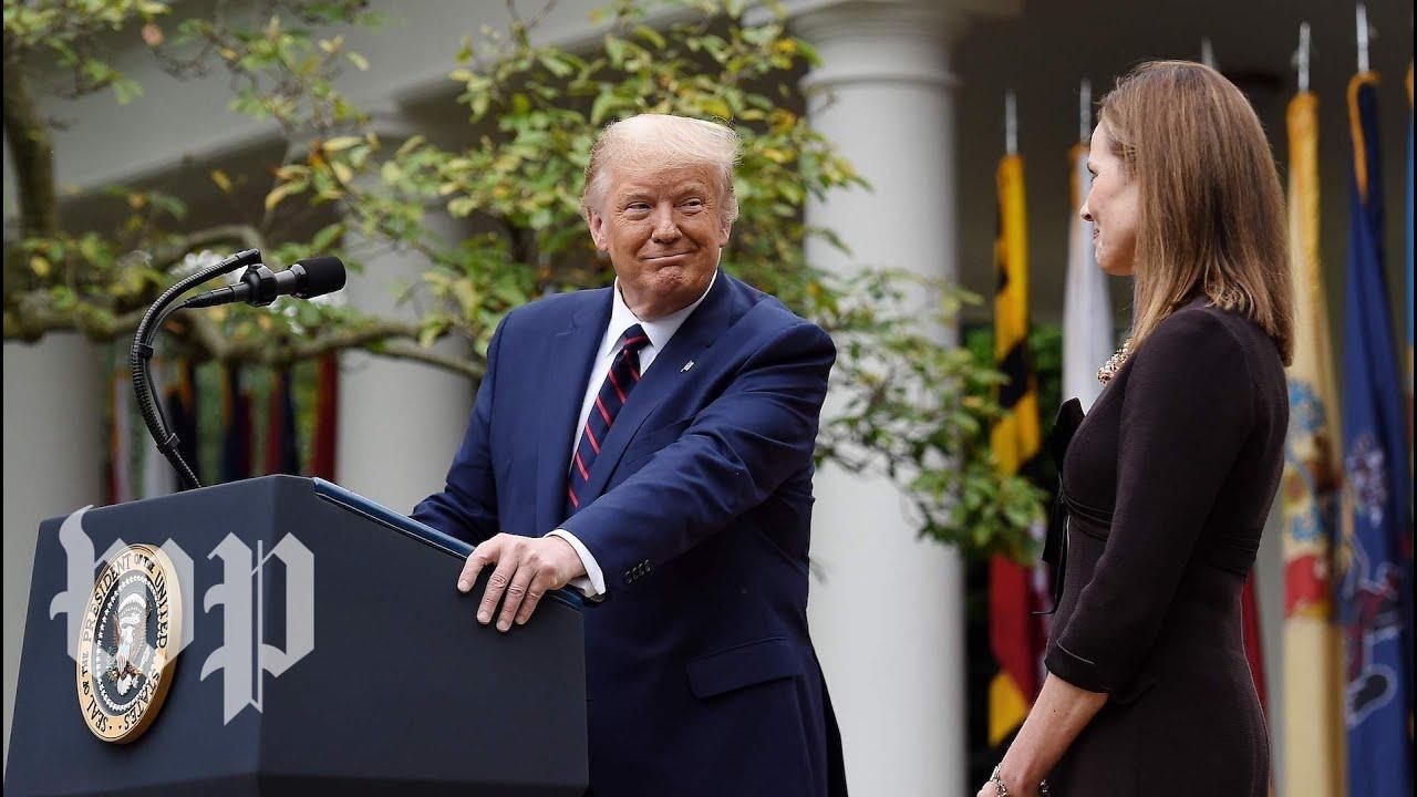 Trump's nomination of Amy Coney Barrett, in 3 minutes