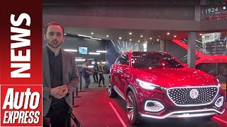 MG X-Motion concept revealed at Beijing Motor Show