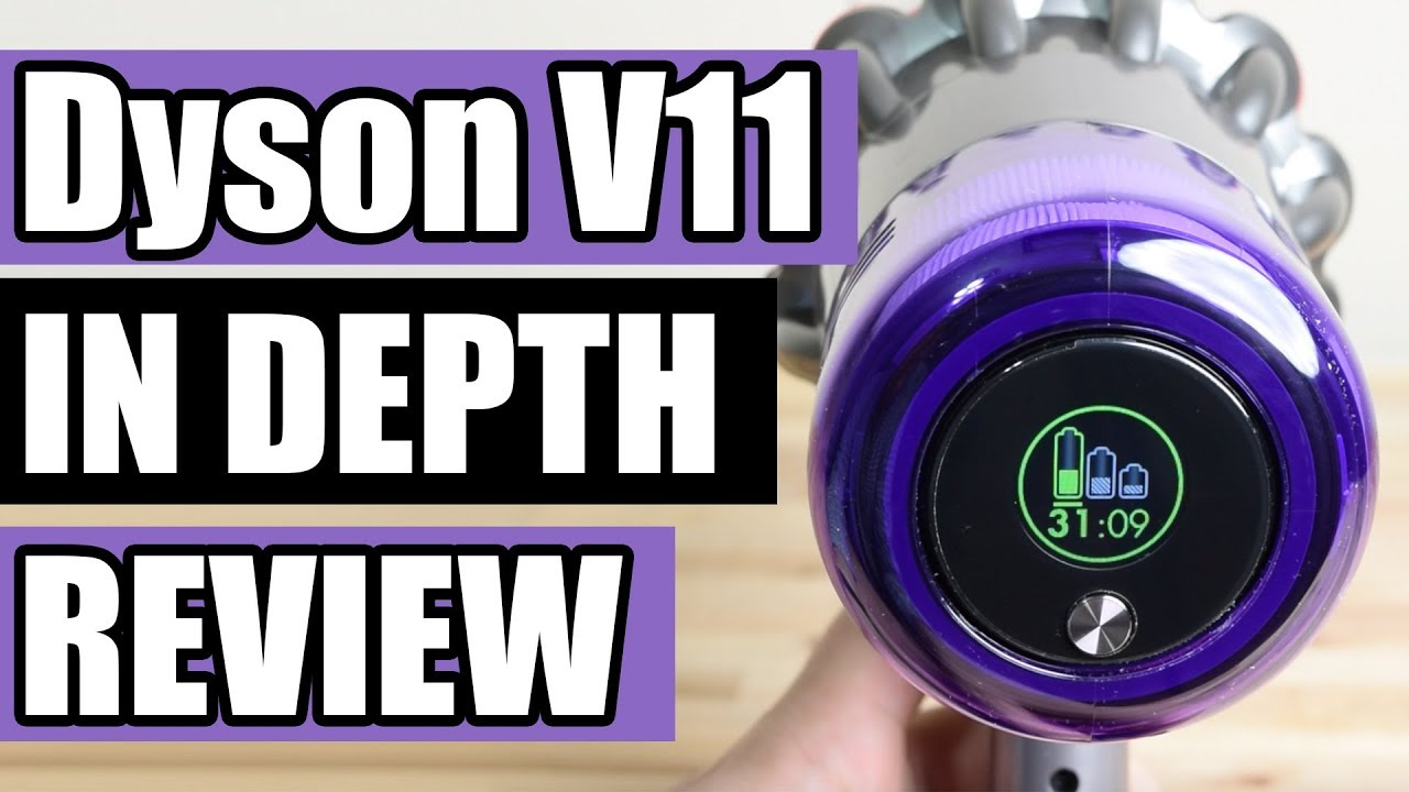 Dyson V11 Torque Drive REVIEW & TESTS - Cordless Vacuum