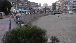 Ллорет де Мар. Пляж.