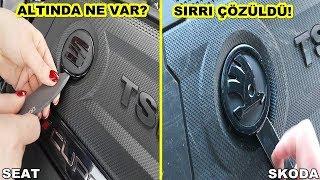Skoda Ve Seat Motor Kapaklarının Altından Bakın Ne Çıktı - Neden ?
