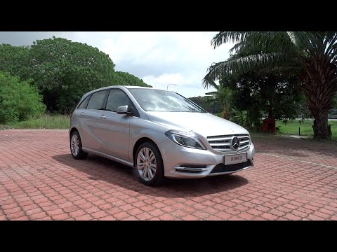 2014 Mercedes-Benz B 200 Start-Up and Full Vehicle Tour