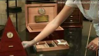 3 En Humidor Adorini Cigar Container Guide Video