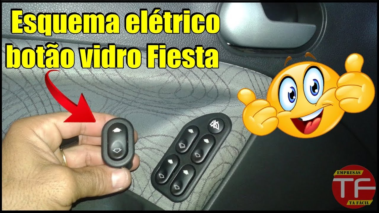 2017 Ford Ranger >> Esquema de ligação do botão interruptor vidro elétrico ...