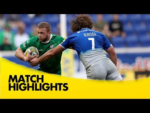 London Irish V Saracens - Aviva Premiership 2015/16