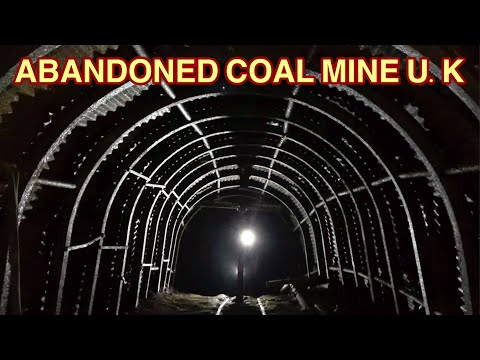 ABANDONED COAL MINE U.K. -Staffordshire Coal-