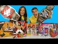 WWE Toy Challenge Women's RAW Vs World Heavyweight Championship Belts ! || Toy Review || Konas2002