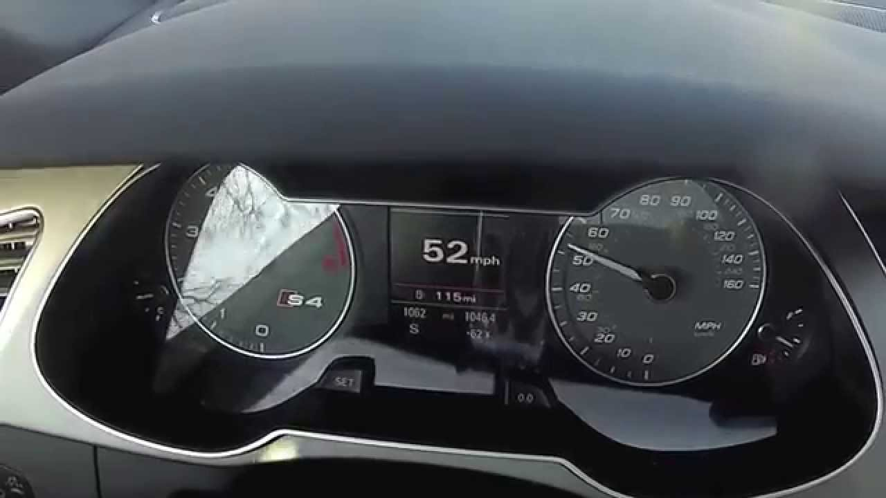 2013 Audi S4 0 60 With Launch Control Hd Youtube