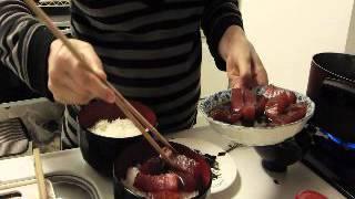 Японская кухня для ленивых. Магуро отядзуке(Сытно, полезно и не каллорийно. Если нет тунца, можно попробовать заменить другой рыбой, с не слишком резким..., 2013-01-16T09:16:25.000Z)