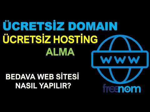 Ücretsiz Alan Adı (domain) ve Hosting Nasıl Alınır? Ücretsiz Web Sitesi Nasıl Yapılır?
