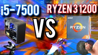 Ryzen 3 1200 vs Intel i5-7500 | Can a $109 Ryzen Beat An i5?
