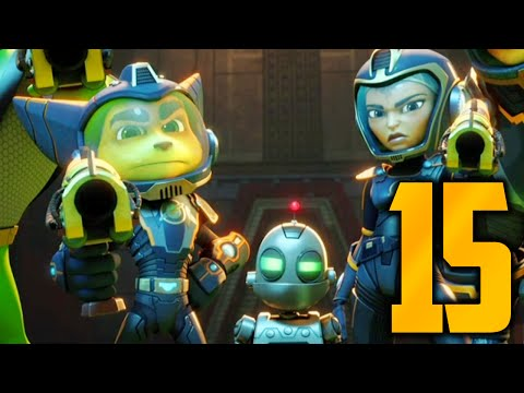"""Ratchet and Clank Gameplay Walkthrough - Part 15 """"SCREW THESE FISH!"""" (Let"""
