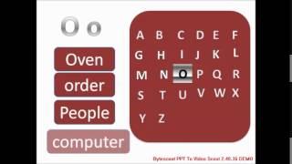 تعلم اللغة الانجليزية  - فيديو 2 - الأبجدية
