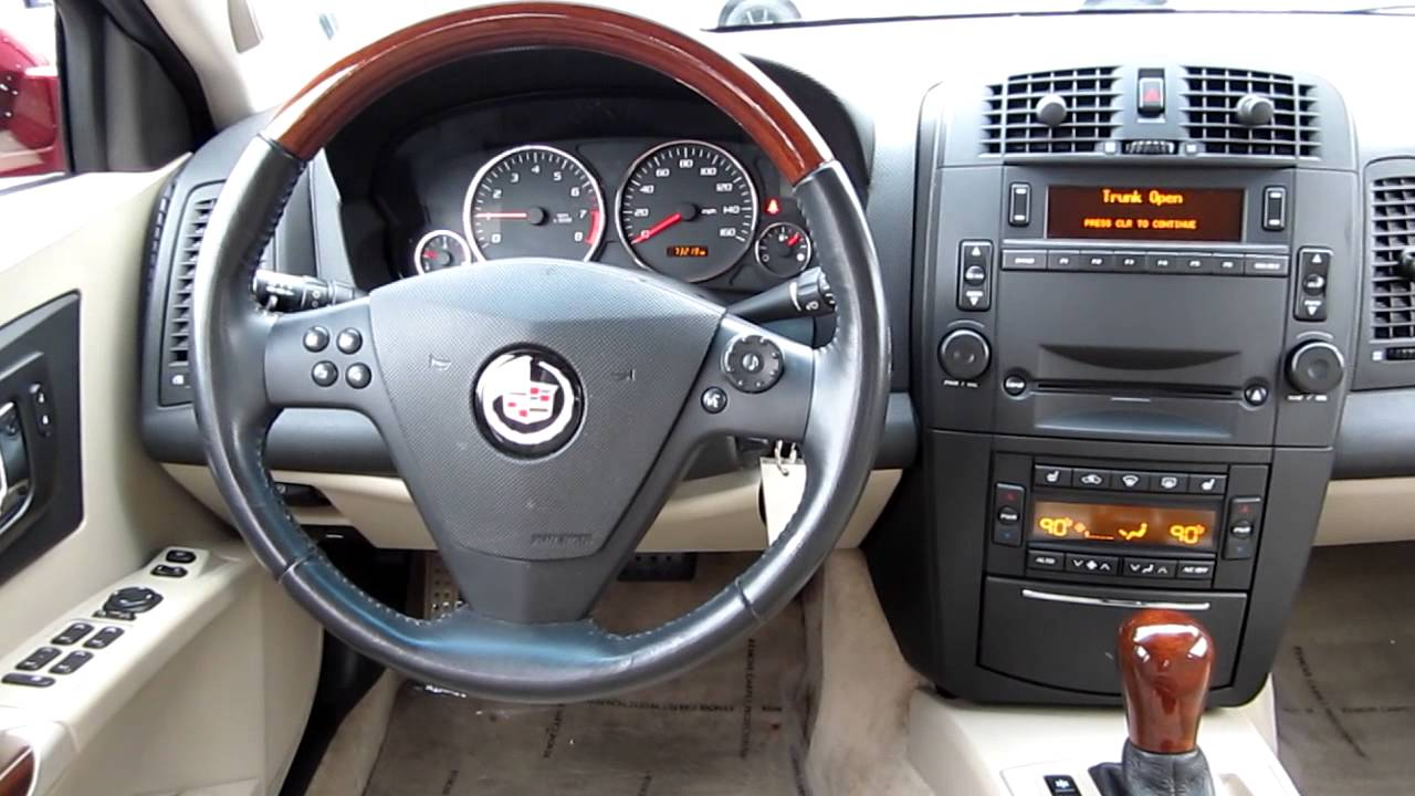 2005 Cadillac CTS, Red   Stock# K1307581   Interior